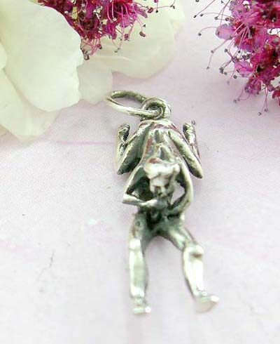 Shopping sexy jewelry online sterling silver pendant with loving couple in sex position pattern