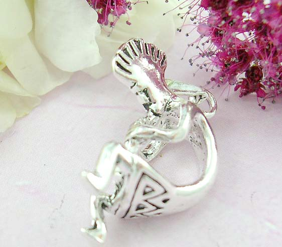 Shopping body hot jewelry online sterling silver pendant with cool man bend his body
